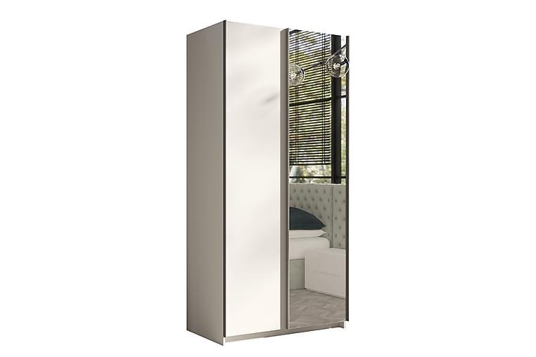 Ricka Garderob 150 cm - Vit - Möbler - Förvaring - Garderober & garderobssystem