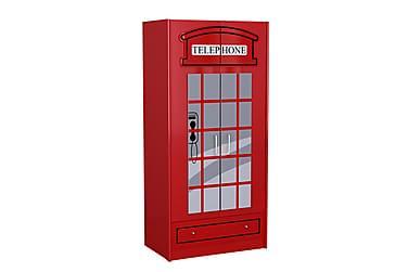 Fleeman Garderob London Telefonkiosk