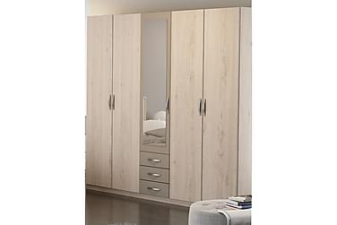 Vallerani Garderob 212 cm 4+1 Dörrar 3 Lådor Spegel