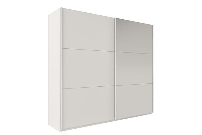 Vigo Garderob 225x65x215 cm - Vit - Möbler - Förvaring - Garderober & garderobssystem