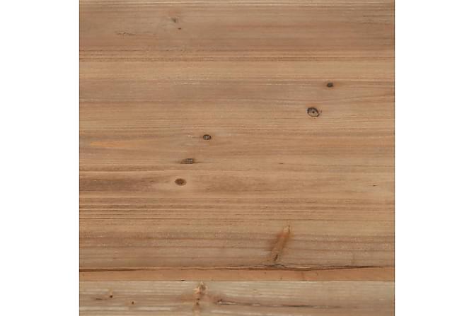 Bokhylla massiv furu och stål 80x42x180 cm - Möbler - Förvaring - Hyllor
