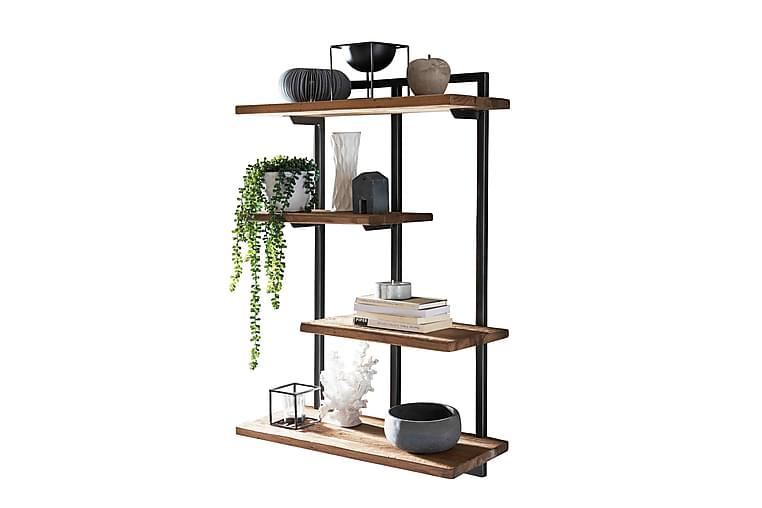 Dunmowe Hylla - Svart/Trä/Natur - Möbler - Förvaring - Hylla