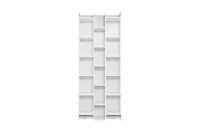 Expand Bokhylla 80 cm Förlängningsbar - Vit Tall - Möbler - Förvaring - Hyllor