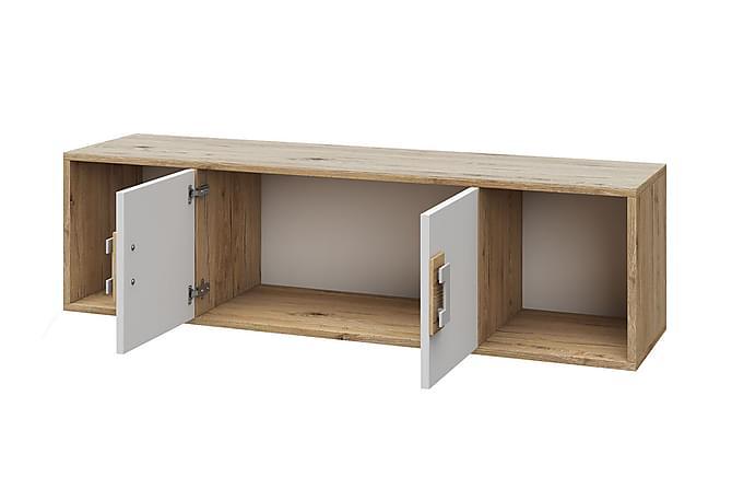 Nico Vägghylla 120x31x33 cm - Beige|Grå - Möbler - Förvaring - Hyllor