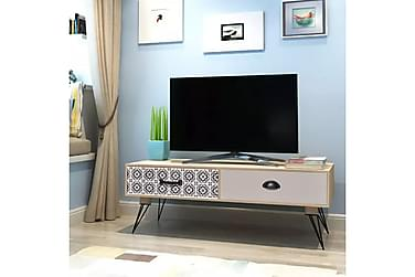 TV Soffbord 100x40x35 cm Brun