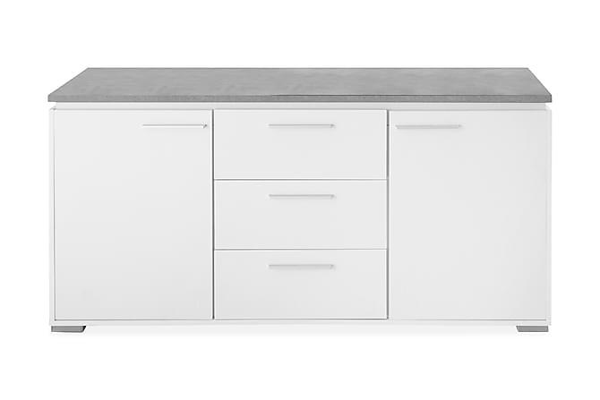 Celina Skänk 160 cm - Vit/Grå - Möbler - Förvaring - Sideboard & skänk