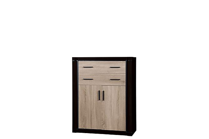 Dallas Skänk 97x43,5x123 cm - Beige|Svart - Möbler - Förvaring - Sideboard & skänk