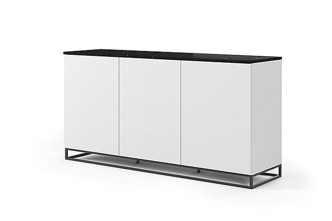 Kolesar Skänk Marmor - Vit/Svart/Metallben - Möbler - Förvaring - Sideboard & skänk