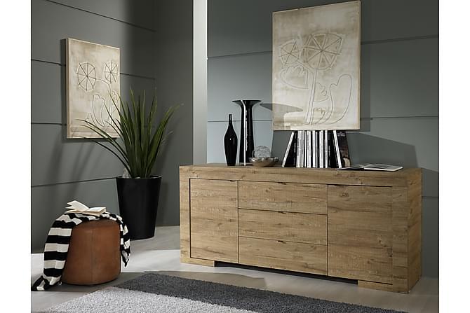 Milano Skänk 191 cm - Trä/Natur - Möbler - Förvaring - Sideboard & skänk