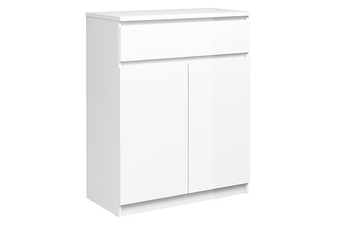 Naia Skänk 80 cm - Vit Högglans - Möbler - Förvaring - Sideboard & skänk