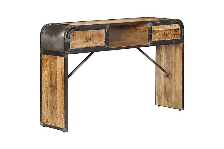 Skänk 120x30x75 cm massivt mangoträ - Brun - Möbler - Förvaring - Sideboard & skänk