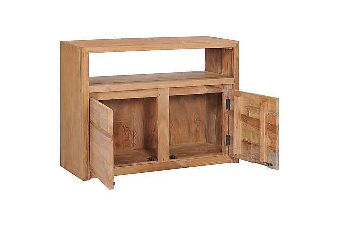 Skänk 80x30x60 cm massiv teak - Möbler - Förvaring - Sideboard & skänk