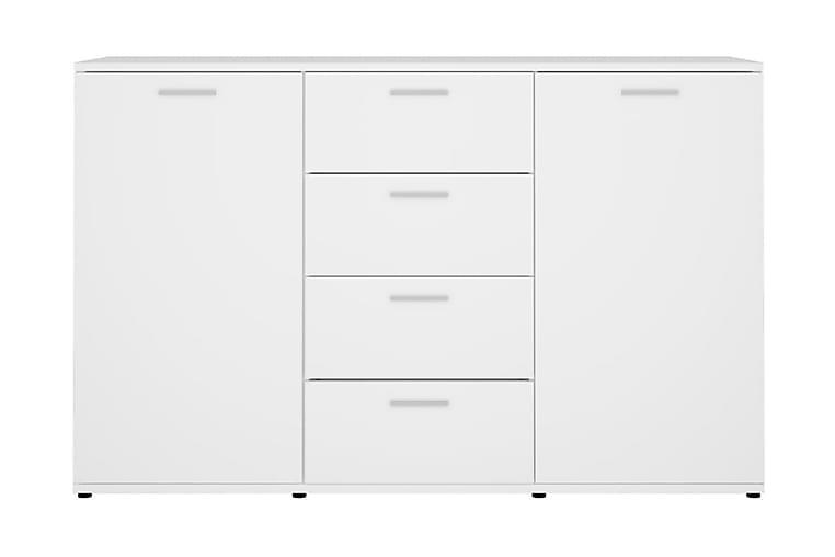 Skänk vit 120x35,5x75 cm spånskiva - Vit - Möbler - Förvaring - Sideboard & skänk