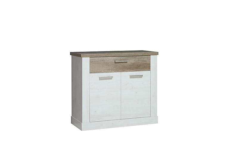 Talebi Skänk 41x101 cm - Brun/Vit - Möbler - Förvaring - Sideboard & skänk