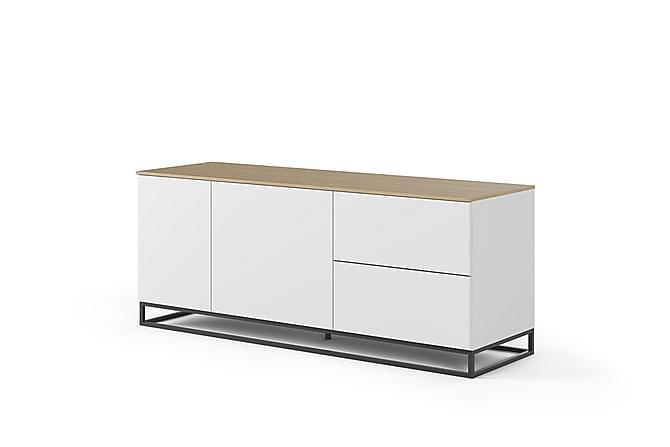 Temahome Kolesar Skänk 160 cm - Vit/Trä - Möbler - Förvaring - Sideboard & skänk