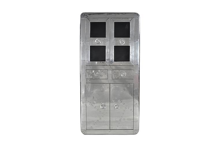 Sompting Vitrinskåp - Silver - Möbler - Förvaring - Vitrinskåp