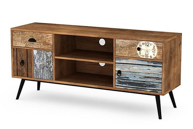 Mezo TV-bänk 120 cm - Trä/Flerfärgad - Möbler - Förvaring
