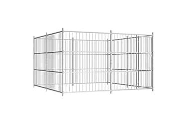 Hundkennel för utomhusbruk 300x300x185 cm