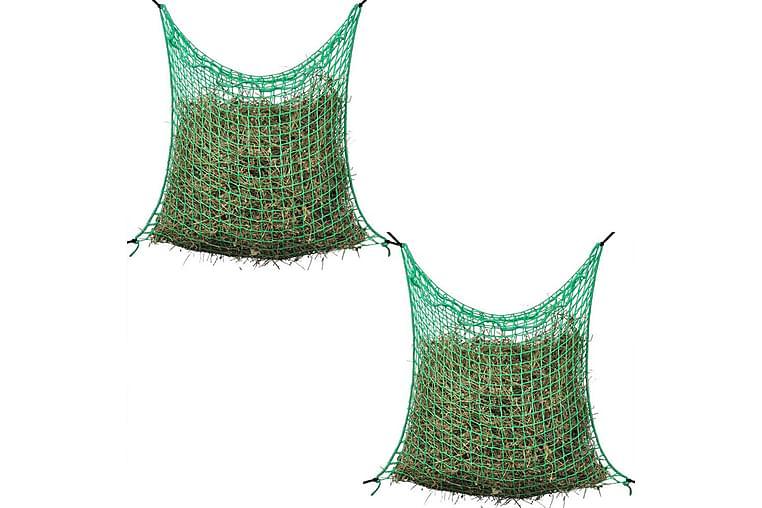 Hönät kvadratisk 0,9x1m PP 2 st - Grön - Möbler - Husdjursmöbler - Tillbehör husdjur