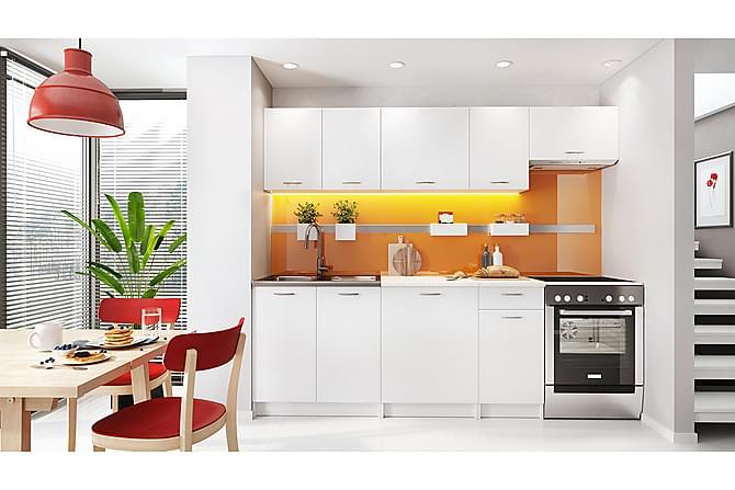 Teicher Köksmöbelset med Bänkskiva - Vit - Möbler - Möbelset - Möbelset för kök & matplats