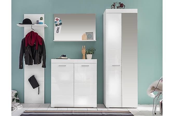 Hernandes Förvaringsset 1 233 cm - Vit - Möbler - Förvaring - Förvaringsskåp