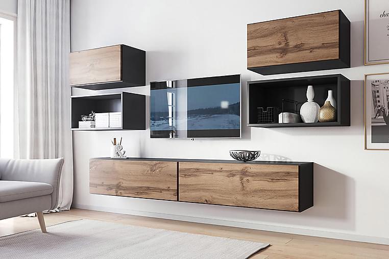 Roco Vardagsrumsset - Beige/Vit - Möbler - Möbelset - Möbelset för vardagsrum