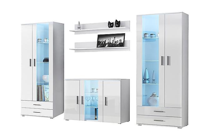 Soho TV-möbelset - Vit - Möbler - Möbelset - Möbelset för vardagsrum