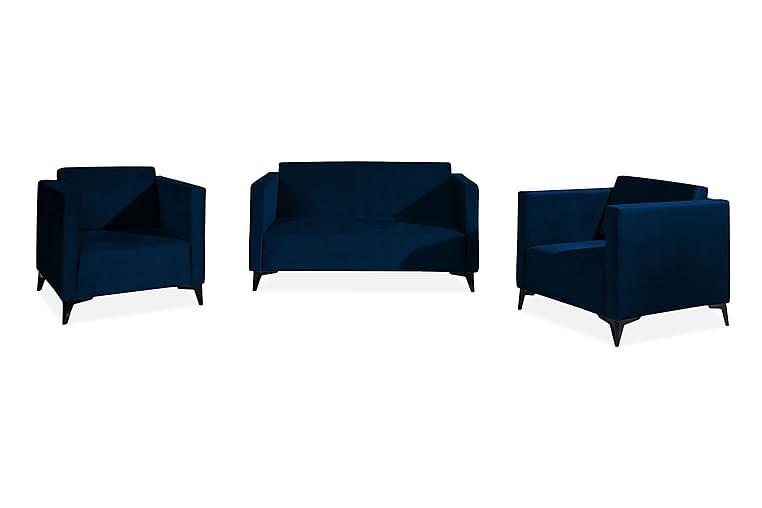 Szafir Vardagsrumsset - Svart Högglans - Möbler - Möbelset - Möbelset för vardagsrum