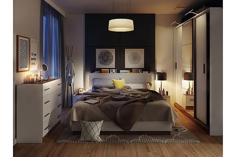 Dentro Sovrumsset - Brun/Vit - Möbler - Möbelset - Möbelset för sovrum