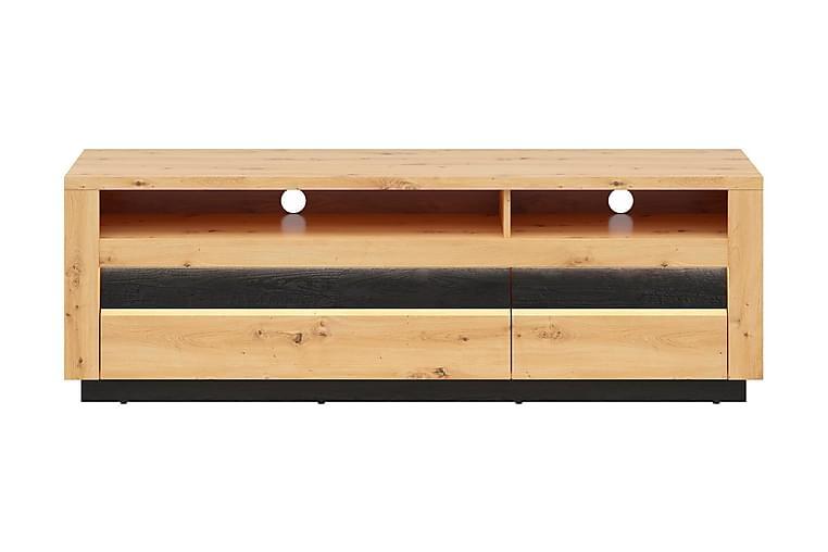 Forja Sovrumsset 161x48 cm - Natur/Svart - Möbler - Möbelset - Möbelset för sovrum
