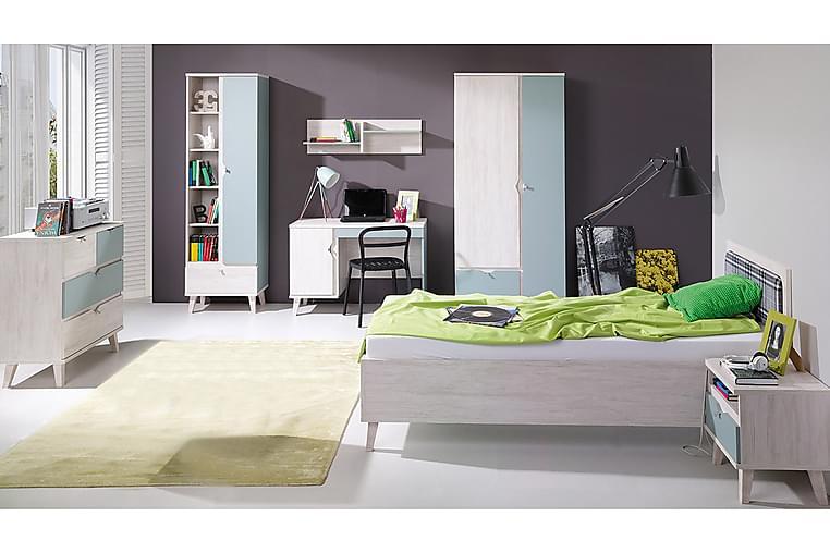 Memone Sovrumsset barn - Grå/Vit - Möbler - Möbelset - Möbelset för sovrum