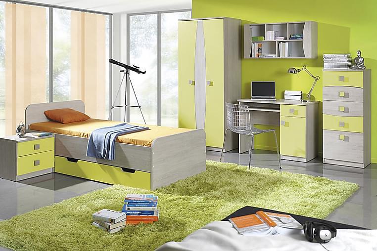 Tenus Sovrumsset barn - Vit/Grön - Möbler - Möbelset - Möbelset för sovrum
