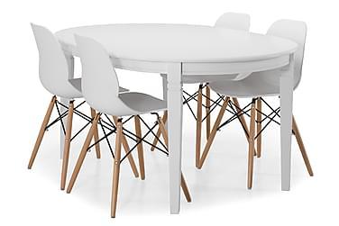 Läckö Matbord med 4 st Scoon stolar