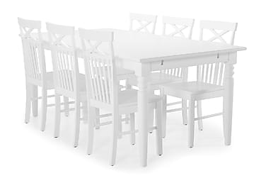 Hampton Matbord med 6 st Michigan stolar
