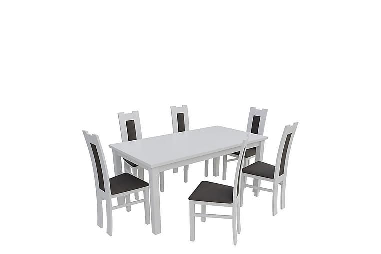 Kumo Matgrupp - Vit - Möbler - Matgrupper - Rektangulär matgrupp