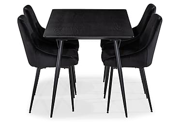 Lilo Matbord 140 cm med 4 Alsarp Köksstol
