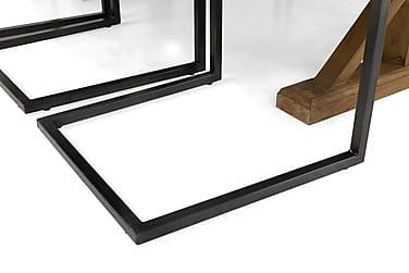 Lyon Förlängningsbar Matgrupp 200 cm med 6 House Stol