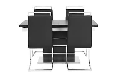 Macahan Matgrupp 140 cm + 4 Isoda Stol