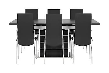 Macahan Matgrupp 140 cm + 6 Wyeth Stol