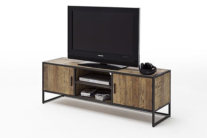 Helt nya Baldwin TV-bänk 160 cm Vintage 2 Hyllor 2 Skåp - Brun   Trademax.se CE-19