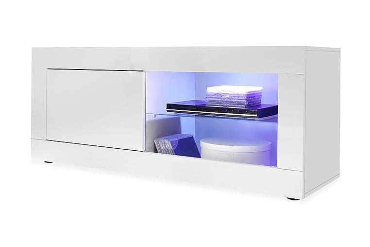 Basic TV-bänk 140 cm - Vit - Möbler - TV- & Mediamöbler - TV-bänk & mediabänk