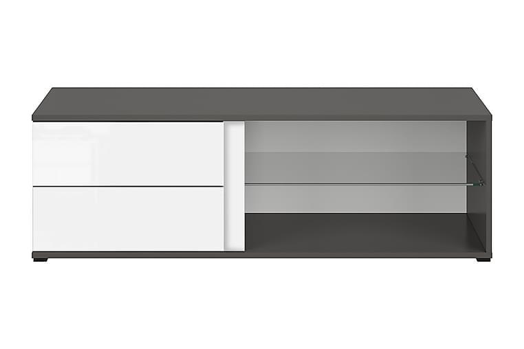Grafika TV-bänk 120 cm - Grå|Vit - Möbler - TV- & Mediamöbler - TV-bänk & mediabänk