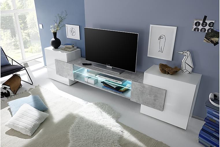 Incastro TV-bänk 258 cm