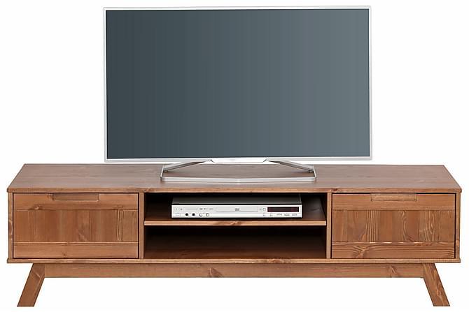 Odelia TV-bänk 150 cm - Brun - Möbler - TV- & Mediamöbler - TV-bänk & mediabänk