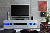 Shiny TV-bänk 169 cm med LED-belysning