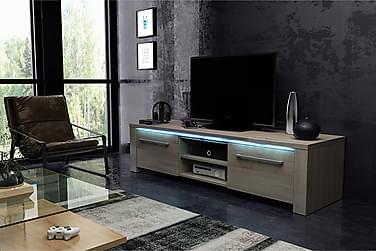 Spex Tv-bänk 140 cm med LED-belysning