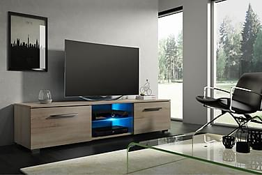 Storsjö TV-Bänk 140 cm med LED-belysning