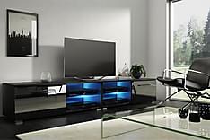 Storsjö TV-Bänk 200 cm med LED-belysning