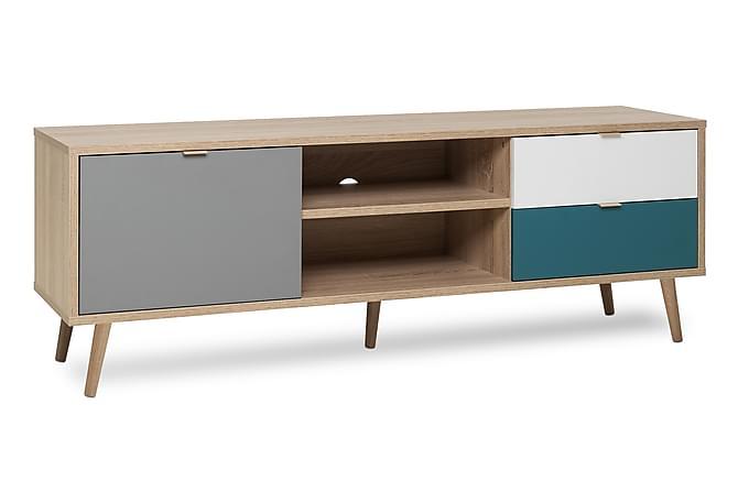 Trombon TV-bänk 150 cm - Brun/Flerfärgad - Möbler - TV- & Mediamöbler - TV-bänk & mediabänk