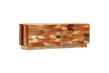 TV-bänk 120x30x40 cm massivt återvunnet trä